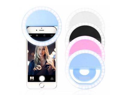 KIK KX7973 Selfie Light univerzální LED světlo color