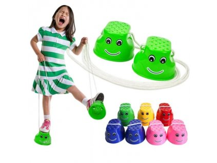 Dětské chůdy plast 10 x 5,5 x 6cm