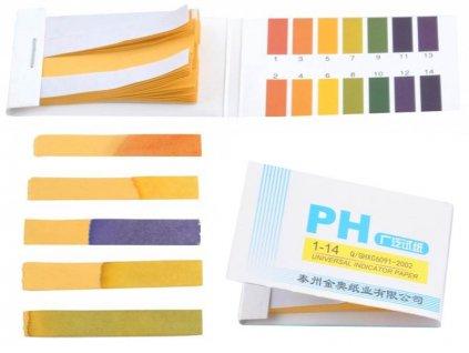 ISO pH papírky 80 ks
