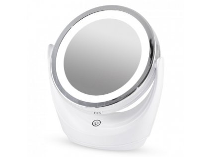 Zvětšovací zrcátko s LED osvětlením, 7x, oboustranné