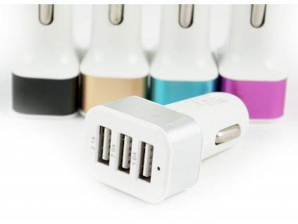 Autonabíječka 3x USB