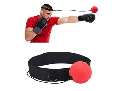 Reflexní boxovací míček na hlavu
