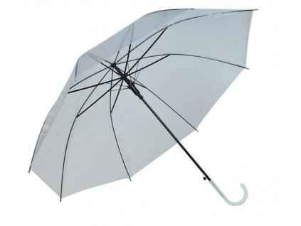 Dámský průhledný deštník čirý