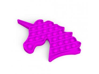 Push game Antistresová hra - jednorožec fialový