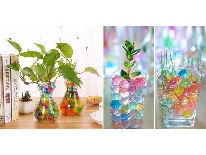 Vodní perly - gelové kuličky do vázy 5g
