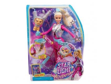 Panenka Barbie Hvězdná galaktička - částečně rozlepená krabička