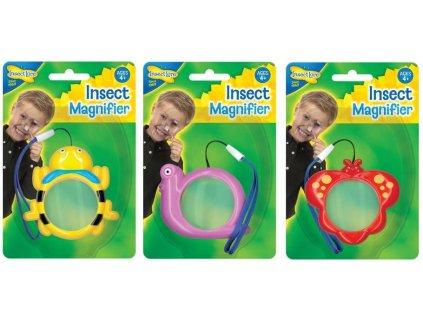 Dětská minilupa - Mini Beasts Mags