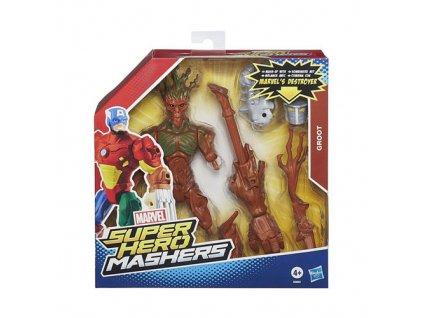 Avengers Hero Mashers s příslušenstvím Groot