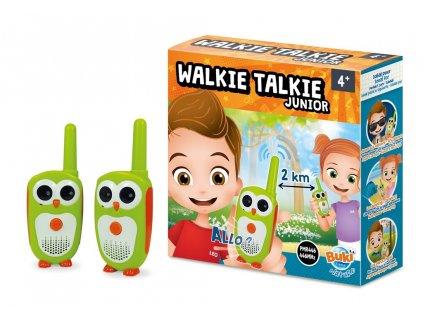 MiniScience Vysílačky Walkie Talkie Junior 2km