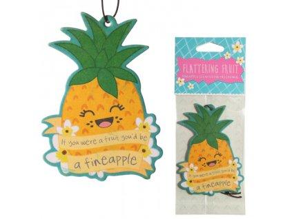 Vůně do auta nebo šatníku - ananas