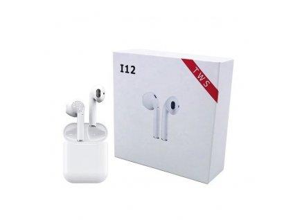 Bezdrátová sluchátka i12 Bluetooth 5.0
