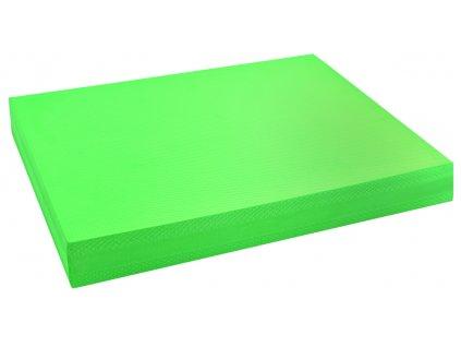 Pěnová balanční podložka 49 x 39 x 6 cm zelená