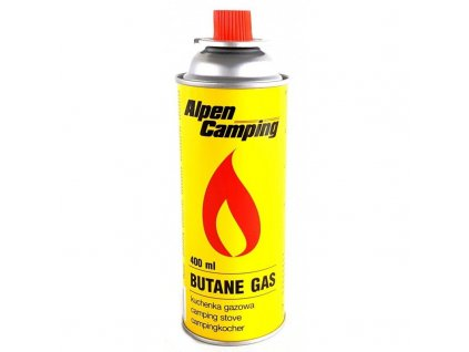 Plynová náplň, Butane GAS - kartuš Aplen Camping, 400ml