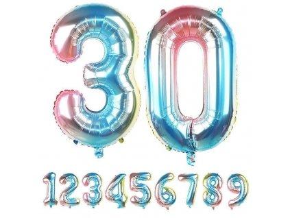 Nafukovací balónky čísla - 3