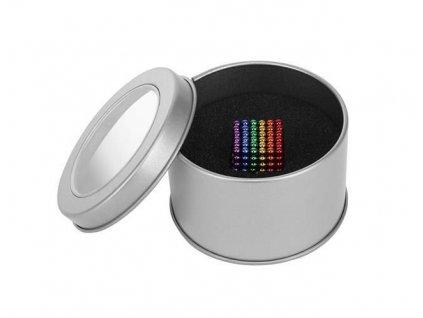 Magnetické kuličky 6 barev 3mm 216 ks