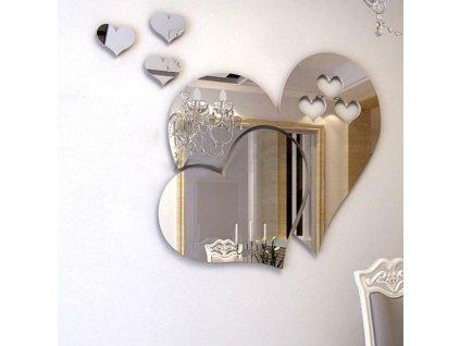 0053309 nalepovaci zrcadlo srdce
