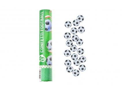 Vystřelovací konfety (30cm) - Fotbalové míče