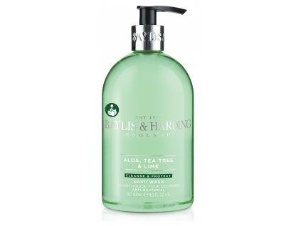 41507 1 baylis harding antibakterialni tekute mydlo na ruce aloe tea tree a limetka 500ml