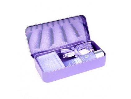 Esprit Provence Set krému na ruce, mýdla a pytlíčku - Řady levanule, 30ml+60g