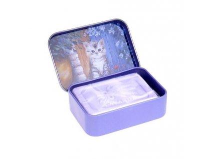 Esprit Provence Marseillské mýdlo v plechu - Kotě, 60g