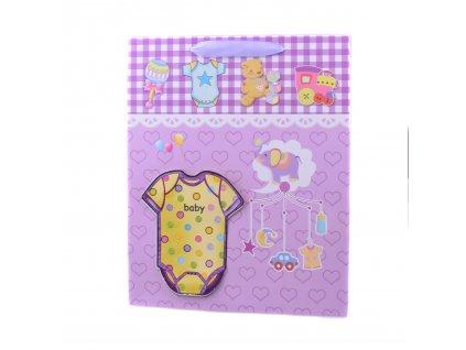 Dárková taška 3D pro miminko, různé velikosti