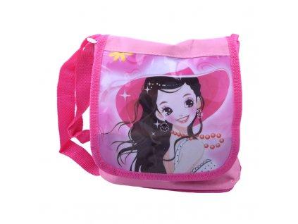 Dívčí kabelka s lesklým obrázkem
