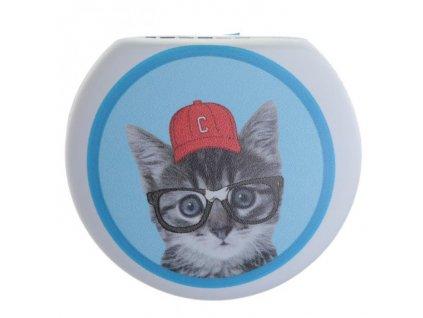 Pouzdro na kontaktní čočky - Kočička