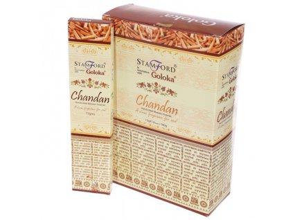Vonné tyčinky Goloka Chandan