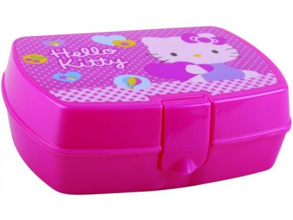 Banquet Svačinový box 17x12cm Hello Kitty