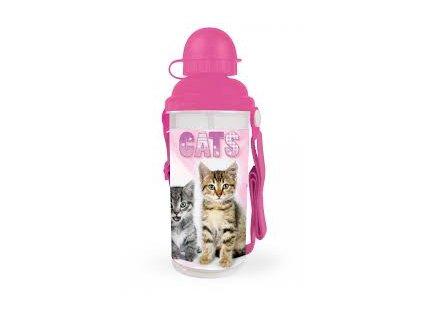 Karton P+P Lahev na pití Kočičky 650 ml