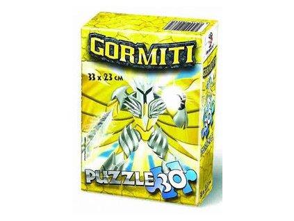 Puzzle 30 dílků v krabičce - Gormiti