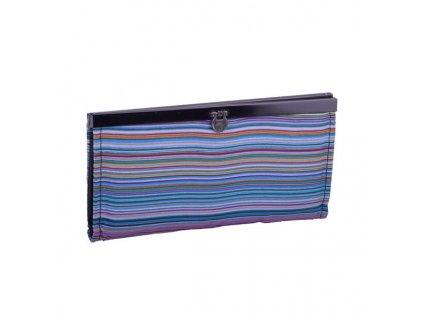 Módní pruhované peněženka 3 barvy