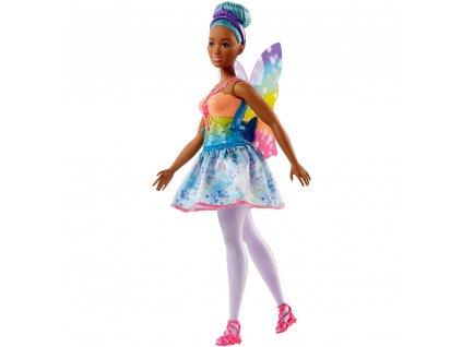 Barbie Víla s modrými vlasy