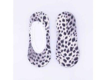 Ponožky do balerín se zvířecím vzorem Typ a