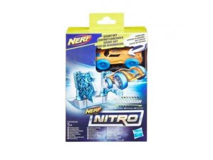 Nerf Nitro Náhradní nitro autíčko s příslušenstvím Sparksmash