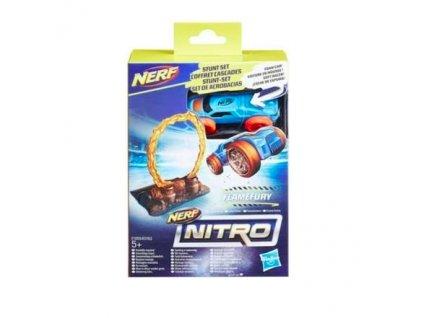 Nerf Nitro Náhradní nitro autíčko s příslušenstvím Flamefury