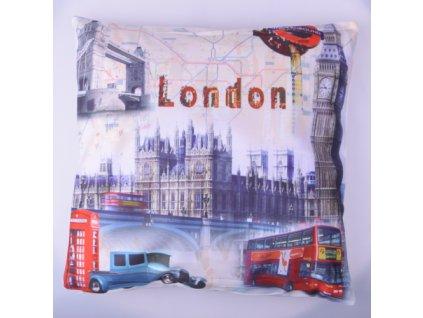 RS Semišový povlak na polštář Londýn 40x40 cm