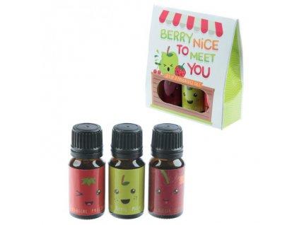 Set 3 vonných olejů Veselé ovoce