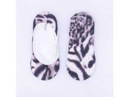 Ponožky do balerín se zvířecím vzorem Typ b