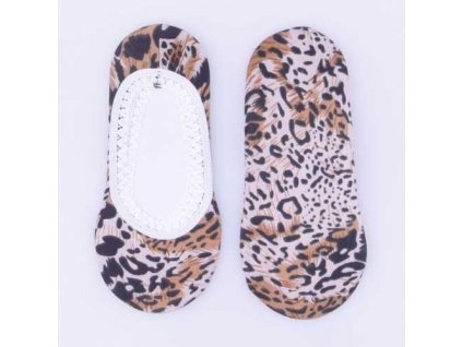 Ponožky do balerín se zvířecím vzorem Typ e