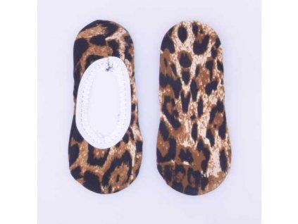Ponožky do balerín se zvířecím vzorem Typ g
