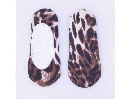 Ponožky do balerín se zvířecím vzorem Typ h