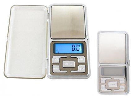Digitální kapesní váha 500g / 0,1g