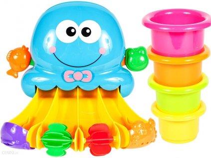 Mlýnek do vany s přísavkou chobotnice