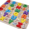 Dřevěná anglická abeceda
