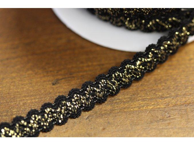 Jemná guma-vlnovka, 10mm