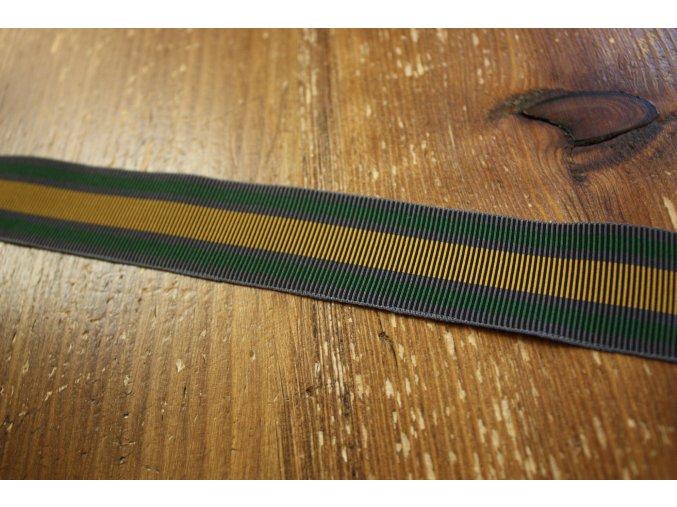 Pruhovaná guma  design Versace