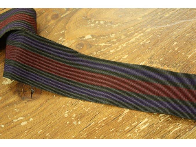 Pruhovaná guma Versace, 50mm
