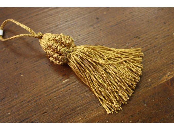 Zlatavé střapce, 10 cm