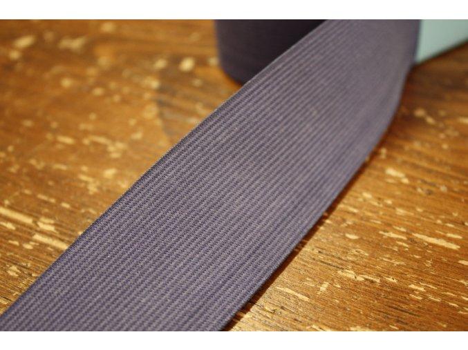 Široká světle fialová guma, 45 mm